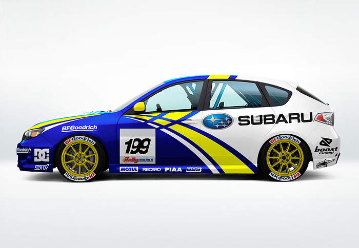 subaru rally team usa jeff borkowski project work